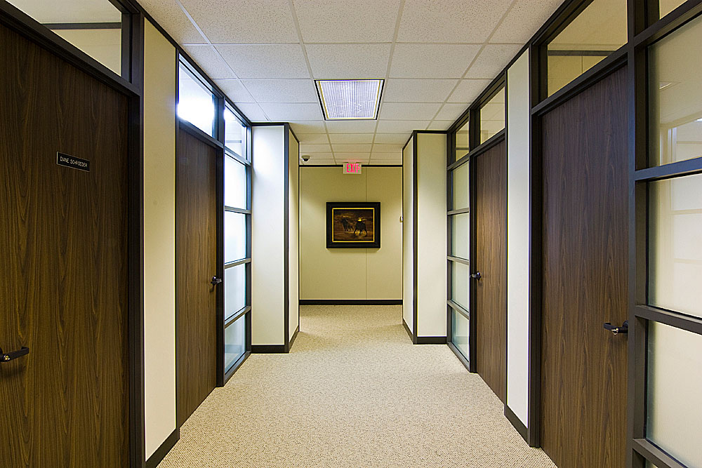 Demountable Walls Collaborative Office Interiors