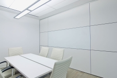 gravity lock systems demountable walls