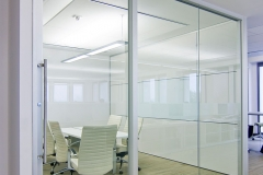 gravity lock systems glass demountable walls