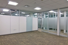momentum partitions gravity lock systems glass demountable walls