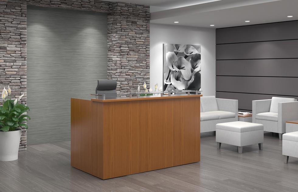 Indiana Furniture Aura Reception Desk