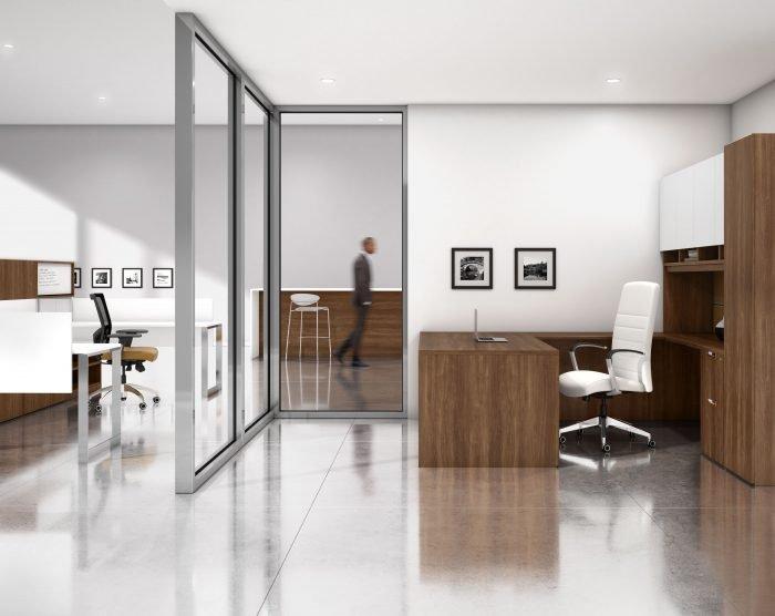 Modern Manager or Executive Desk