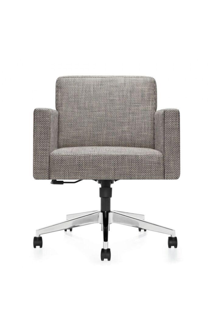 Modern Chair on white background