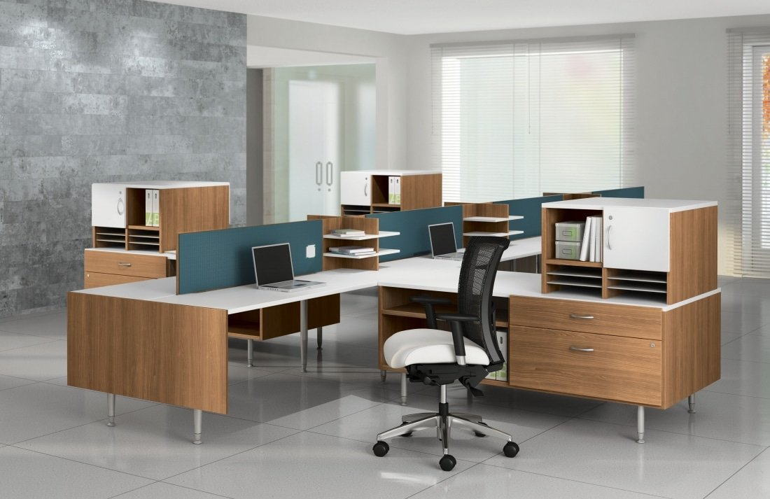 Sidebar Modern Benching Desk Systems Stunning Modern Office Furniture Systems