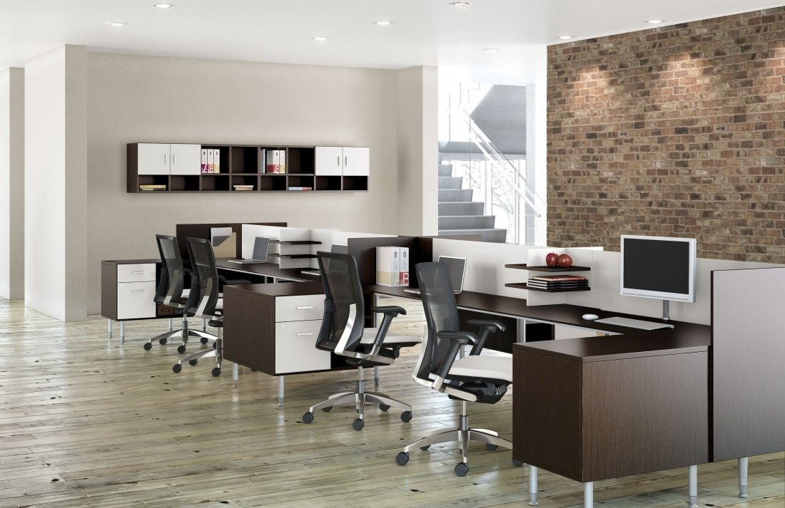 Sidebar Modern Benching Desk Systems Gorgeous Modern Office Furniture Systems