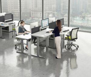 contemporary office desks
