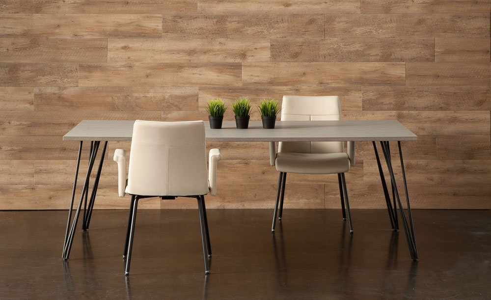 modern executive tables with two chairs
