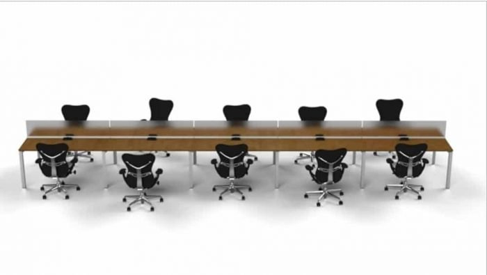 benching or table desks