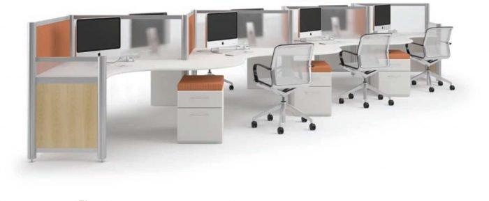 paneled workstations