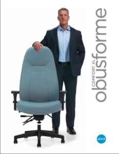 Obustforme XL Heavy Duty Office Chair Brochure