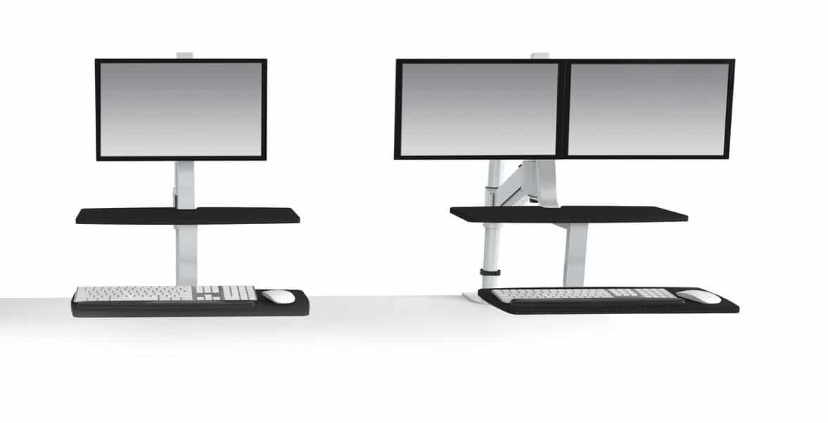 ESI Climb Sit-To-Stand Workstation