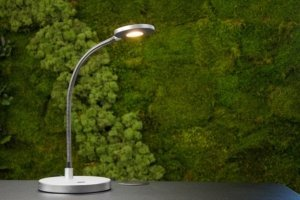 ESI Pixie Task Lighting With Greenery In The Background