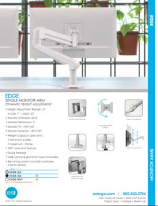 ESI Edge Single Monitor Brochure