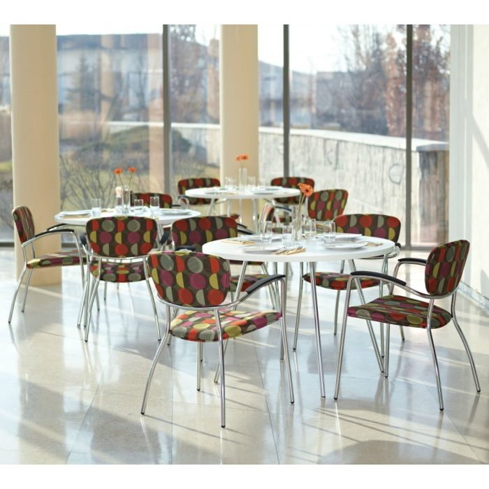 modern office seating and dining