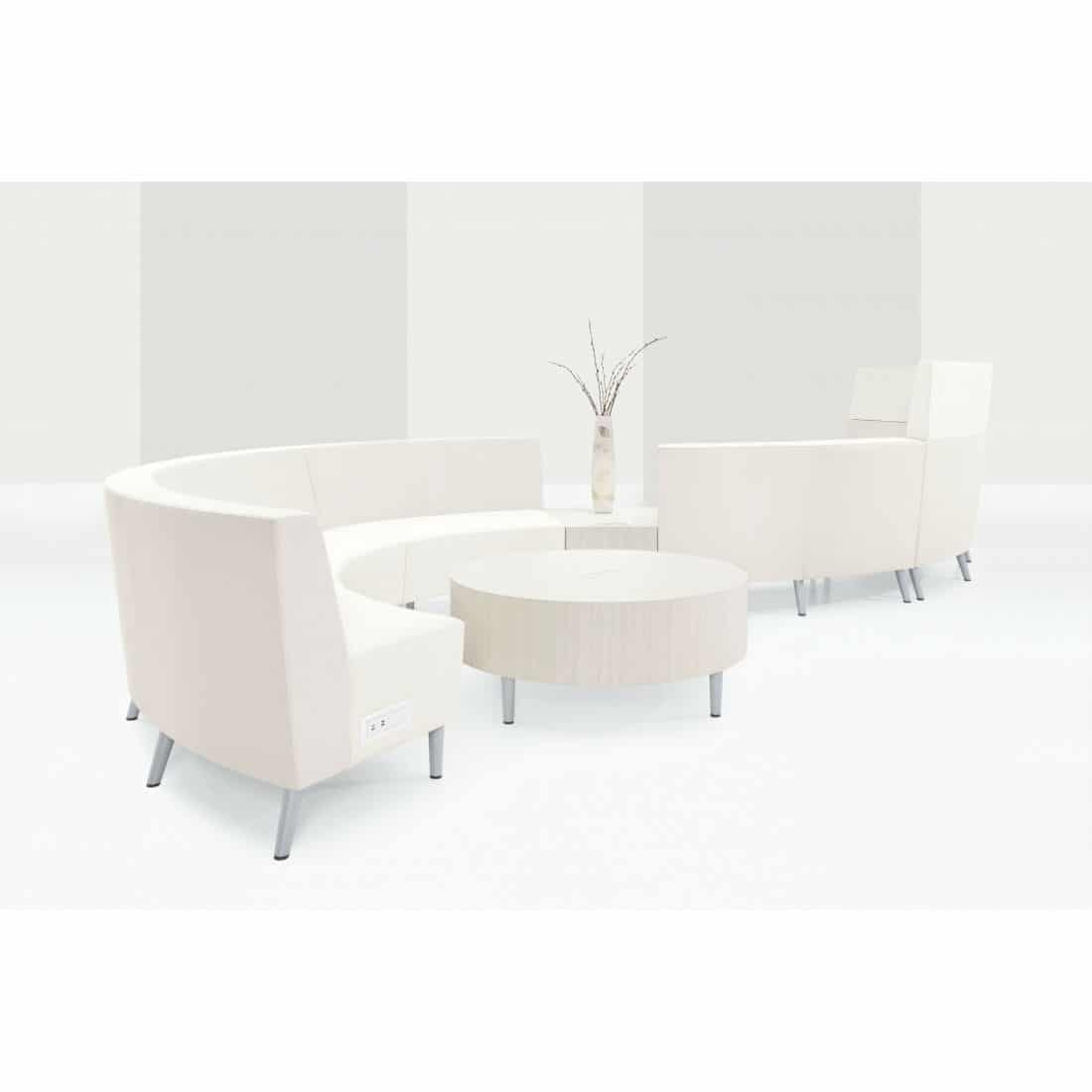 modern office collaborative seating