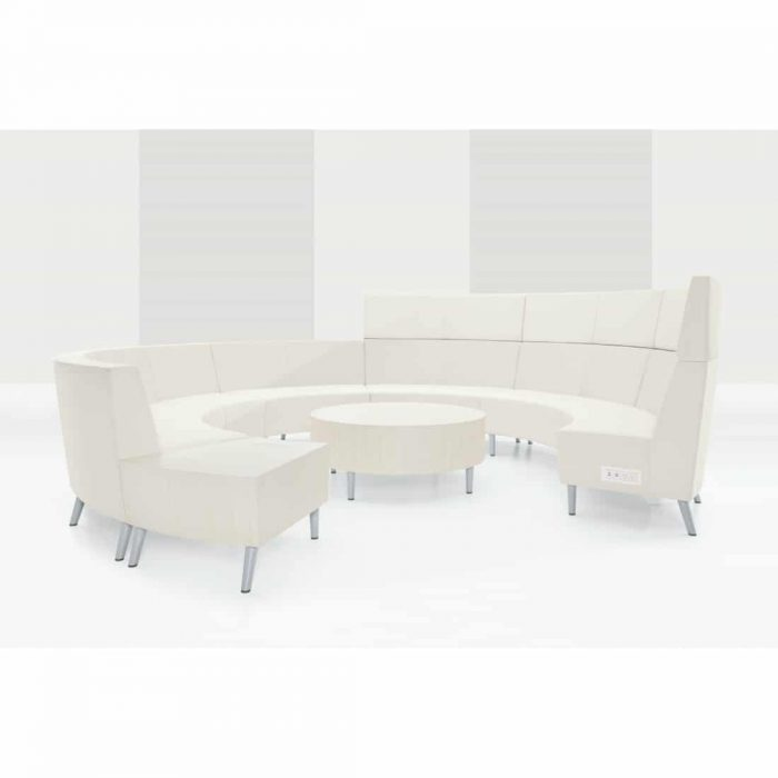 contemporary office collaborative seating