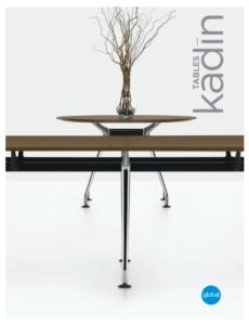 Kadin Tables Brochure