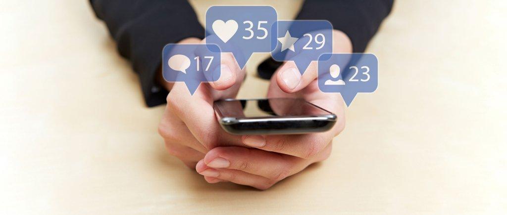 social media and smartphones