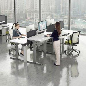 modern open floor plan furniture