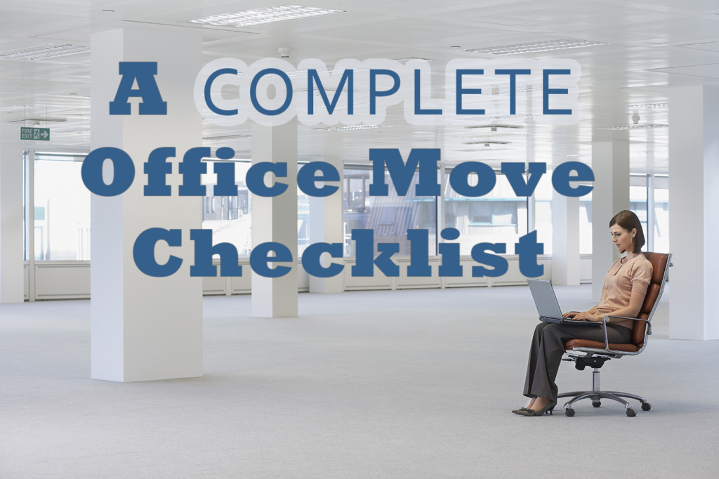 a complete office move checklist
