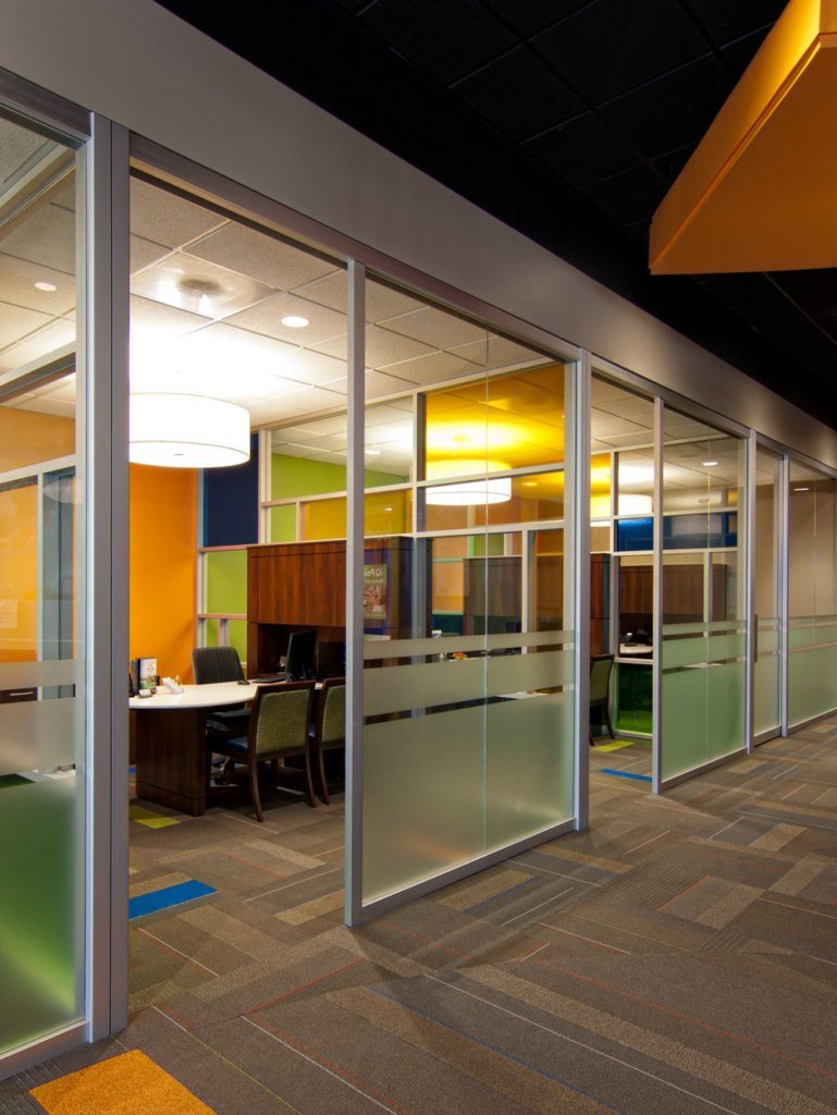 glass movable office walls