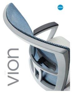 Thumbnail for 2017 Vion task chair brochure.