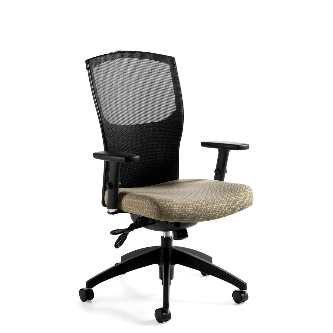 Alero mesh high back multi-tilter chair, model 1961-3. This chair has been placed on a white background.