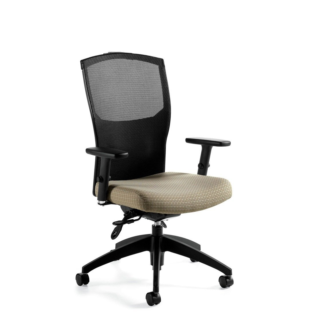 Alero high back operator chair, model 1961-5. This chair has been placed on a white background.