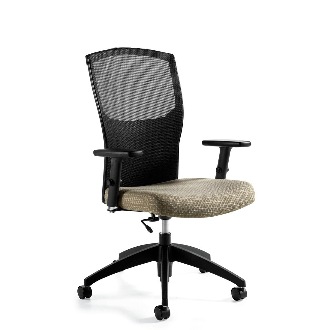 Alero mesh high back task chair, model 1961-6. This chair has been placed on a white background.