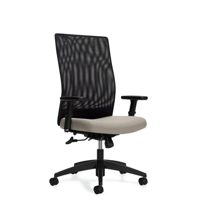 Weev high back tilter chair, model 2220-4. This chair has been placed on a white background.