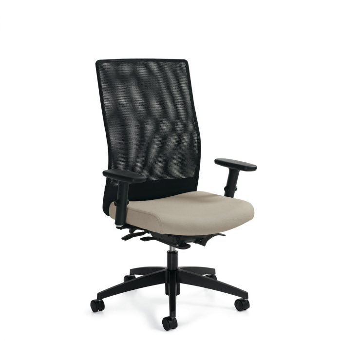 Weev high-back weight sensing chair, model 2220-8. This chair has been placed on a white background.