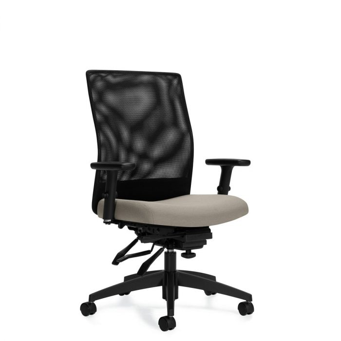 Weev medium-back multi-tilter chair, model 2221-3. This chair has been placed on a white background.