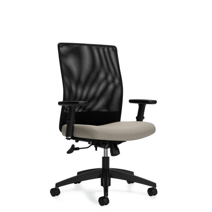 Weev medium-back tilter chair, model 2221-4. This chair has been placed on a white background.