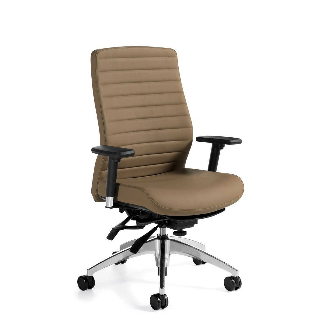 Aspen high-back multi-tilter chair, model 2851LM-3. This chair has been placed on a white background.