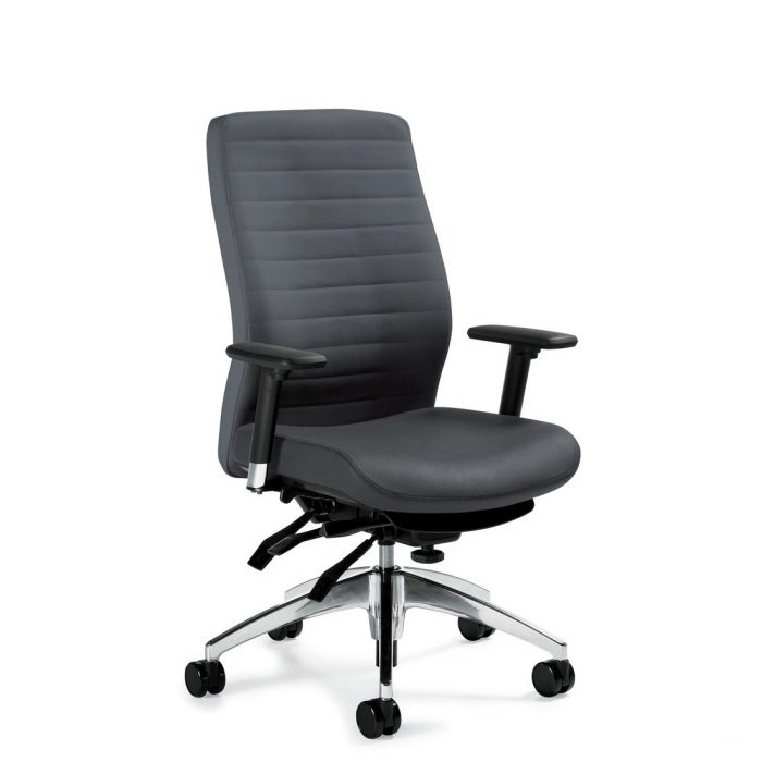 Aspen high-back multi-tilter chair, model 2851-3. This chair has been placed on a white background.