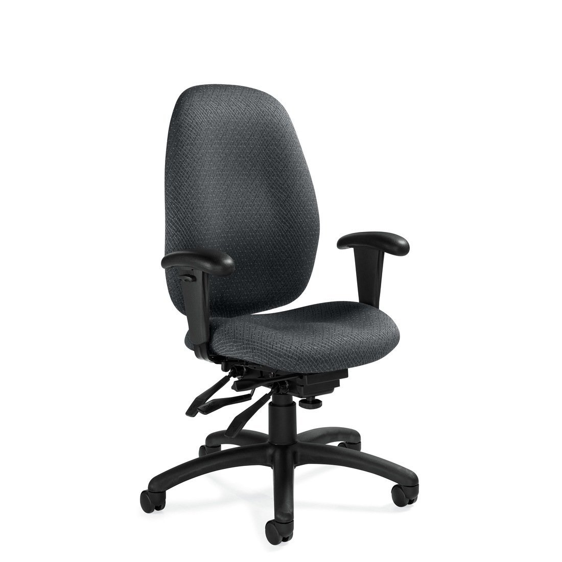 Malaga high back multi-tilter chair, model 3140-3. This chair has been placed on a white background.