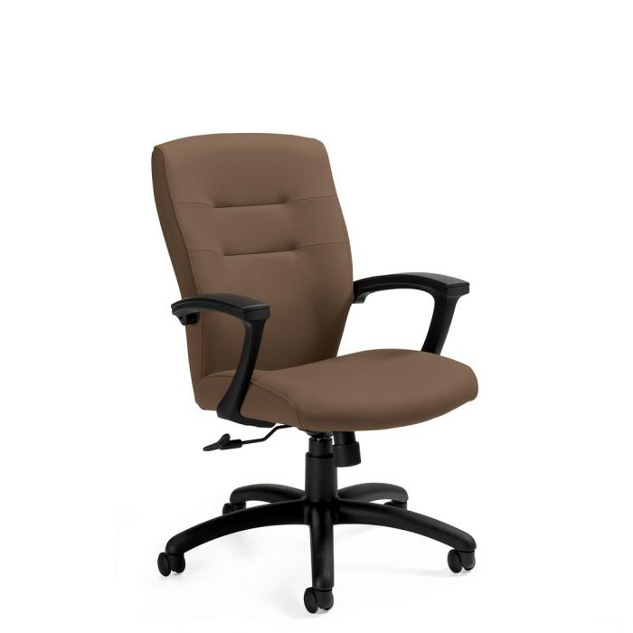 Synopsis medium back tilter chair, model 5091LM-4. This chair has been placed on a white background.