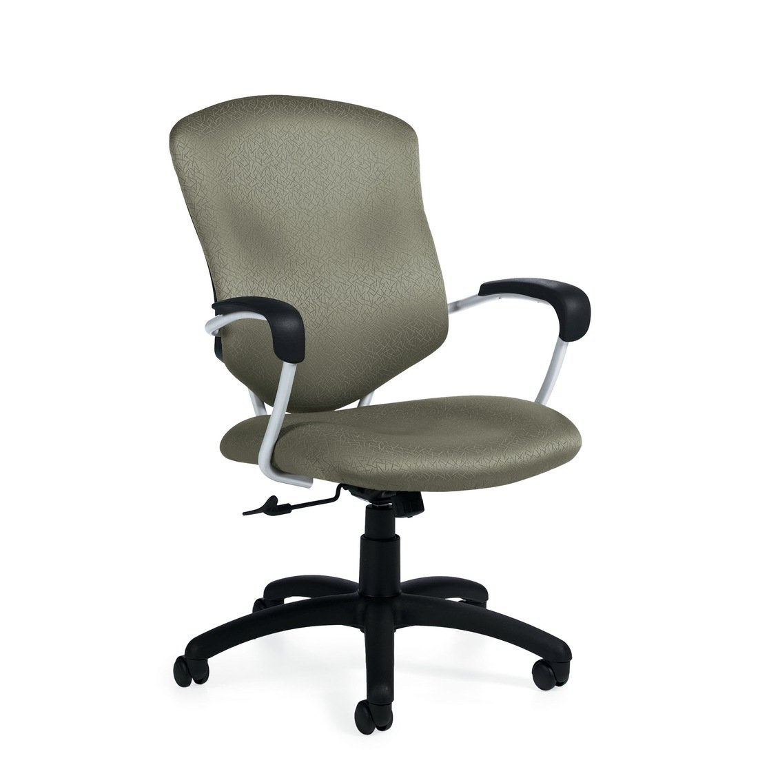 Supra high back tilter chair, model 5330-4. This chair has been placed on a white background.