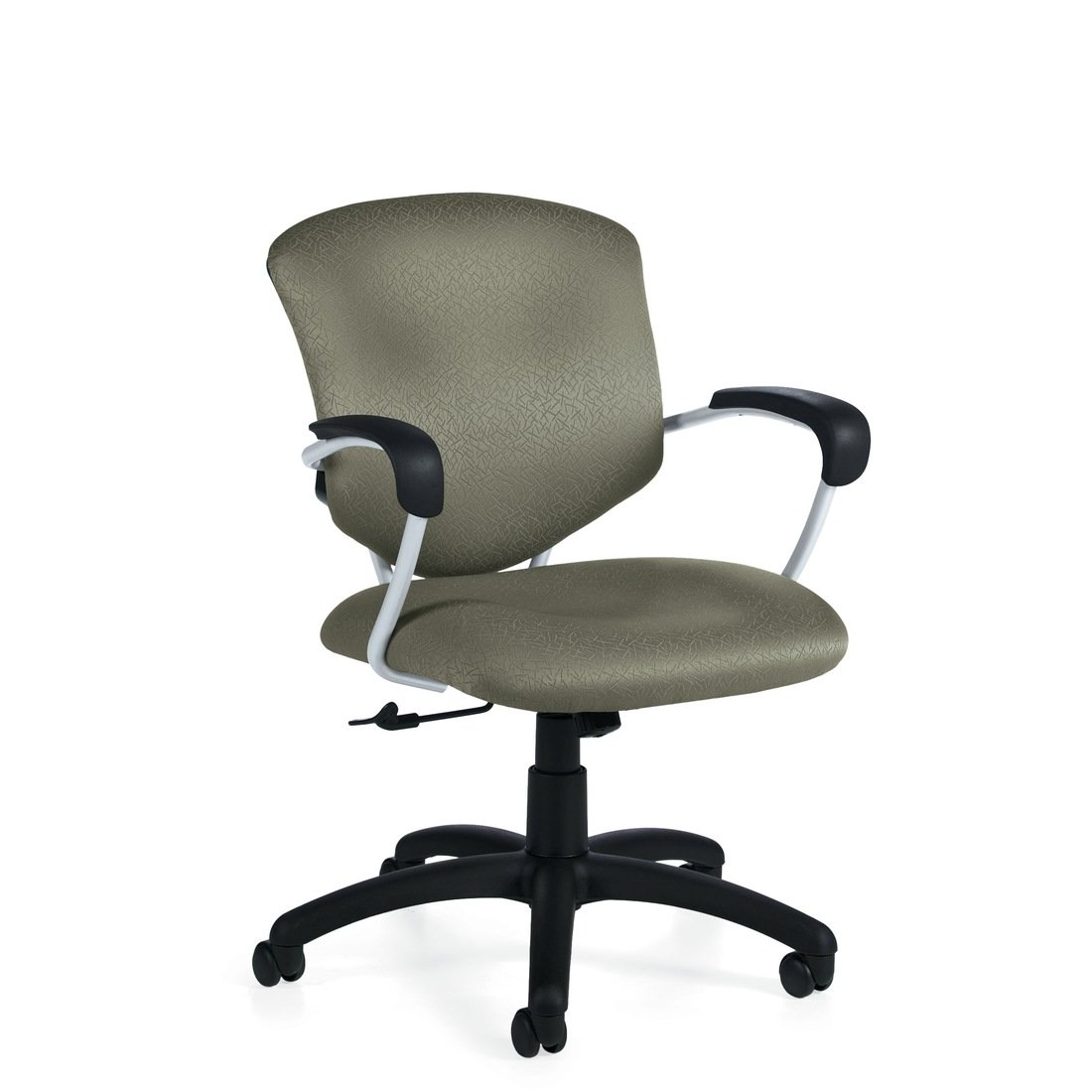 Supra medium back tilter chair, model 5331-4. This chair has been placed on a white background.