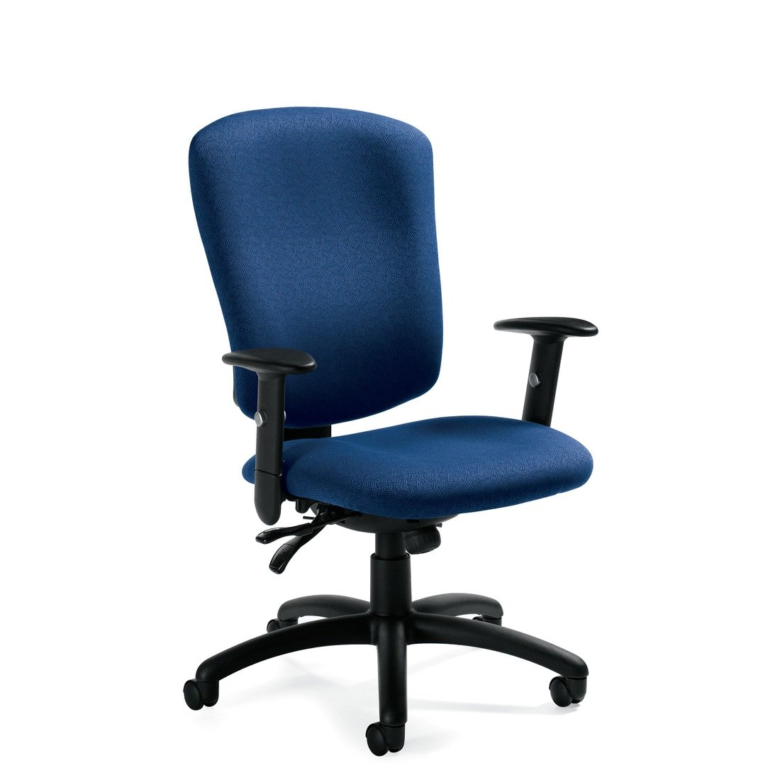 Supra X high back multi-tilter chair, model 5333-3. This chair has been placed on a white background.