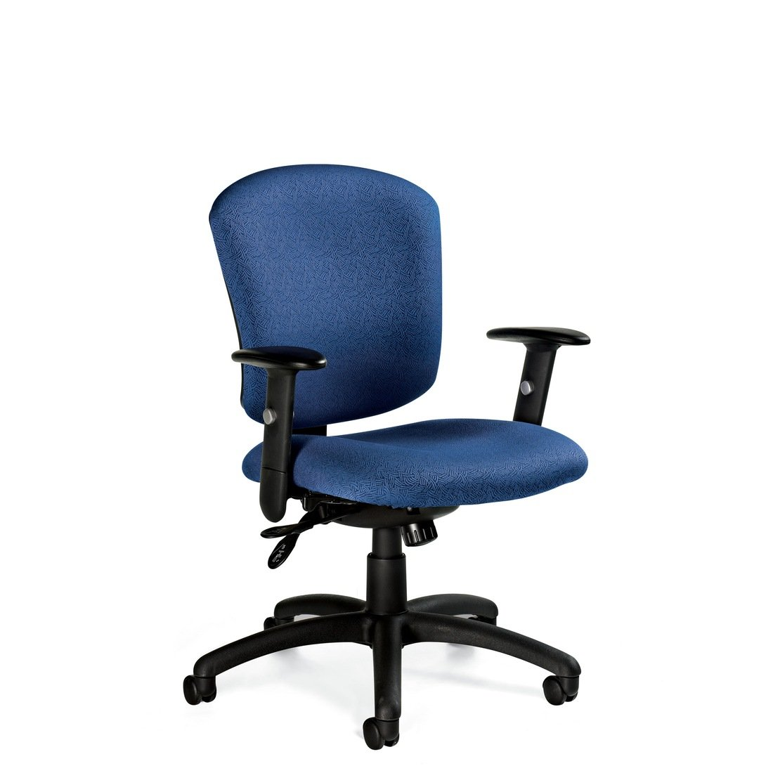 Supra X medium back multi-tilter chair, model 5336-1. This chair has been placed on a white background.