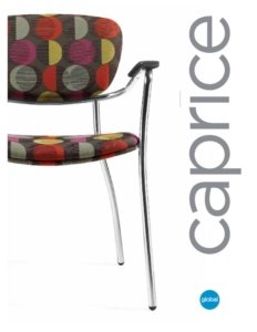 Thumbnail for the 2017 brochure, with Caprice lounge chairs.