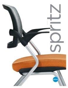 Thumbnail for 2017 Spritz gliding task chair.