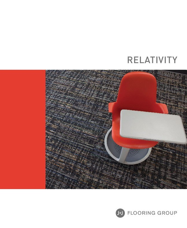 Thumbnail for the Relativity information brochure.