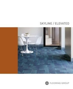 Thumbnail for the information brochure to Skyline and Elevated models of carpet.