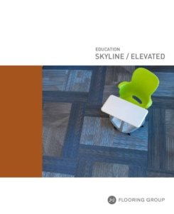 Thumbnail for the education-related information brochure to Skyline and Elevated models of carpet.