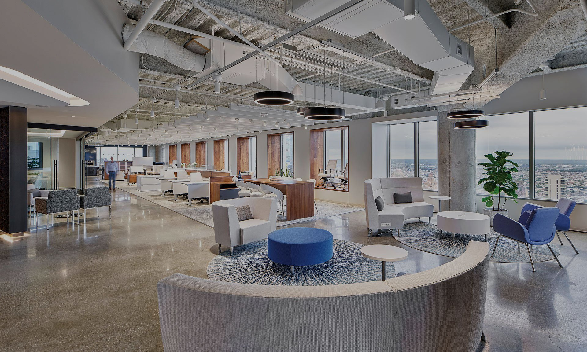 Modern Business Office Furniture Collaborative Office Interiors
