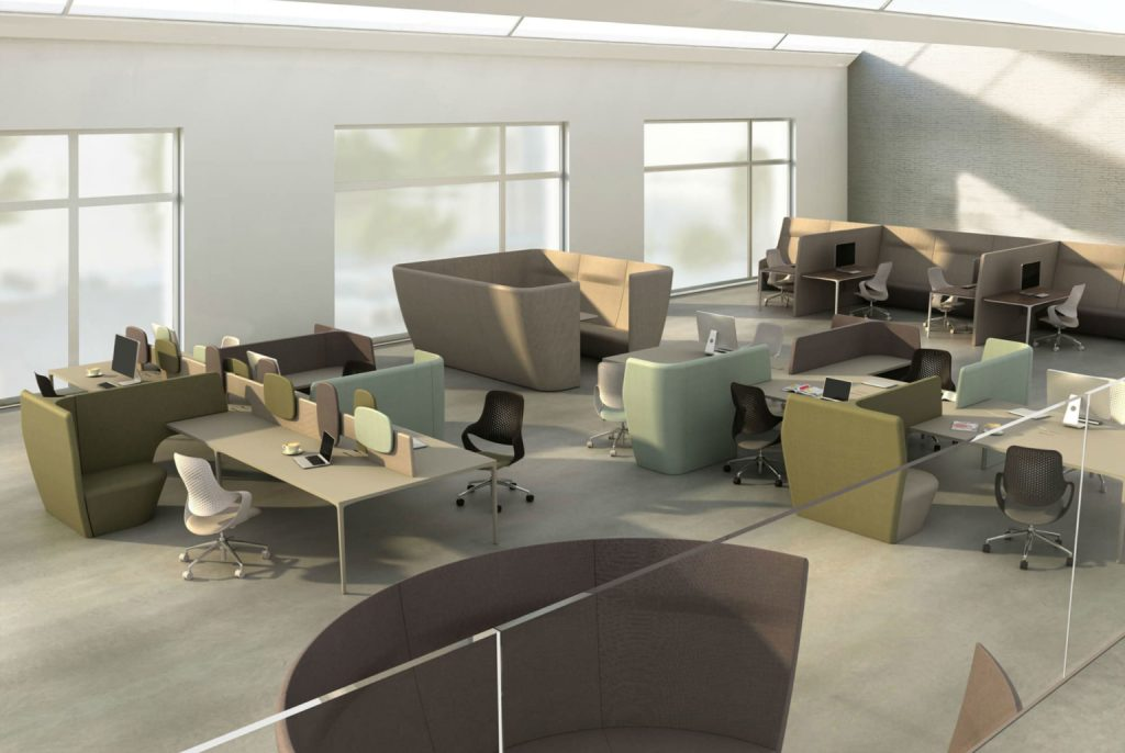Workspace Office Furniture - Collaborative Office