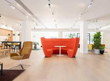 ATOM - New Showroom | Collaborative Office Interiors