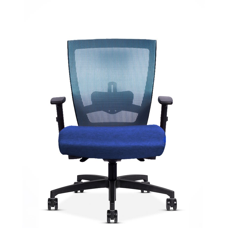 RunII Mid-Back Chair with Adjustable Arm Rest - Modern Office Furniture